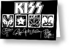 Kiss No.04 Greeting Card