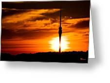 Kiss Of Morning Sun Greeting Card