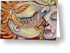 Kiss On The Nose Greeting Card