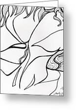 Kiss Vi Greeting Card by Loretta Nash