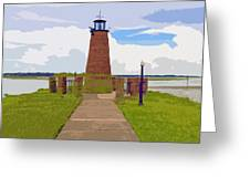 Kissimmee Lighthouse Greeting Card