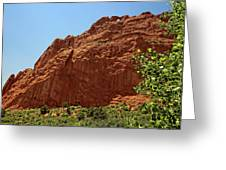 Kissing Camels At The Garden Of The Gods Greeting Card