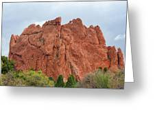 Kissing Camels Rock Garden Of The Gods Greeting Card