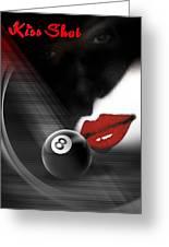 Kissshot2 Greeting Card