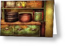 Kitchen - Food - The Cake Chest Greeting Card