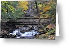 Kitchen Creek Bridge Greeting Card
