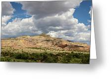Kitchen Mesa Panorama Greeting Card