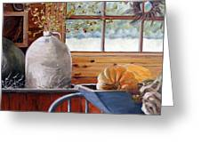 Kitchen Scene Greeting Card