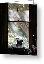 Kitchen Window Greeting Card