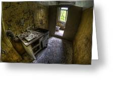 Kitchen With A Loo Greeting Card