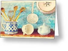 Kitchenware Greeting Card