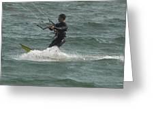 Kite Surfing 11 Greeting Card