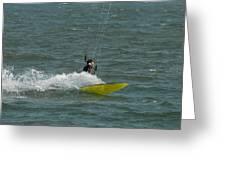 Kite Surfing 18 Greeting Card