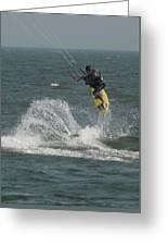 Kite Surfing 20 Greeting Card