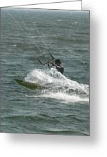 Kite Surfing 21 Greeting Card