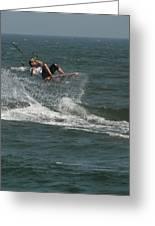 Kite Surfing 22 Greeting Card