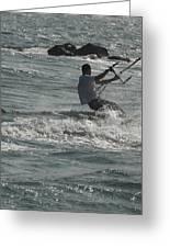 Kite Surfing 23 Greeting Card
