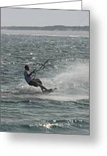 Kite Surfing 7 Greeting Card