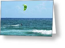 Kitesurfer Dude Greeting Card