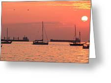 Kitsilano Sunset II Greeting Card