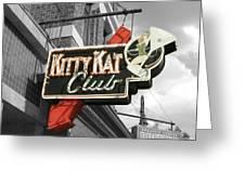 Kitty Kat Club Greeting Card