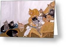 Kitty Litter II Greeting Card
