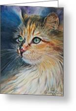 Kitty  Greeting Card