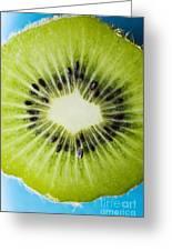 Kiwi Cut Greeting Card