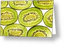 Kiwi Fruit II Greeting Card