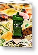 Kiwi Postage Scene Greeting Card