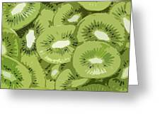 Kiwis Greeting Card