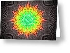Klidanature Sun  Greeting Card