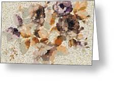Klimt's Garden Greeting Card