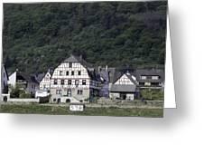 Km 578 Spay Germany Greeting Card