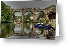 Knaresborough Viaduct Greeting Card