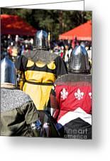 Knight Squad Greeting Card