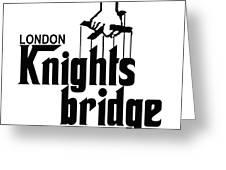 Knightsbridge Greeting Card