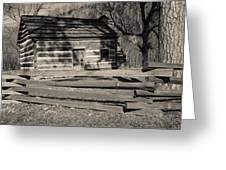 Knob Creek Cabin Greeting Card