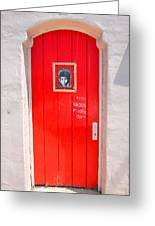 Knockin On Heaven's Door Greeting Card by Steven Ainsworth