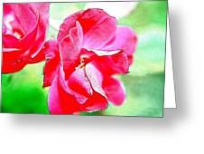 Knockout Watercolor Greeting Card