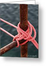 Knot On My Warf IIi Greeting Card