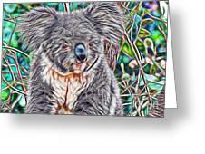 Koala Greeting Card