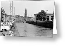Kobenhavn Kanal Greeting Card