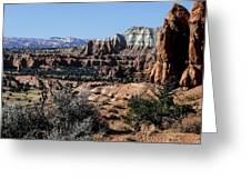 Kodachrome Basin Panorama Greeting Card
