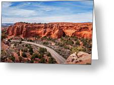 Kodachrome Basin State Park Panorama Greeting Card