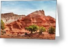 Kodachrome Park Colorful Desert Beauty In Spring. Greeting Card