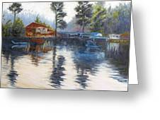 Kodaikanal Lake Greeting Card