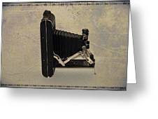 Kodak A 116 Folding Bellows Camera 1921 Greeting Card