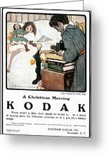 Kodak Advertisement, 1904 Greeting Card
