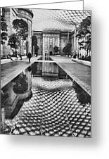 Kogod Courtyard I Greeting Card by Steven Ainsworth